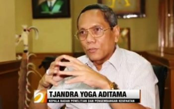 Kabalitbangkes Kemenkes RI, Prof. dr. Tjandra Yoga Aditama