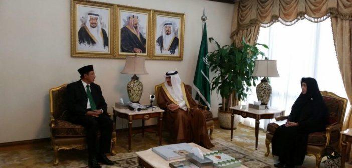 Menkes RI dan Menag RI bertemu Menteri Kesehatan Arab Saudi