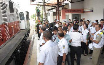 Stasiun Senen 15 Juli 2015