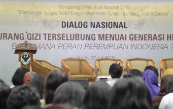 Dialog Nasional Kurang Gizi