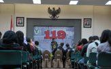 Peluncuran 119 Integrasi Layanan Kegawat Daruratan Medik di Indonesia oleh Menteri Kesehatan RI Prof. Nila Moeloek, di Gedung Kementerian Kesehatan RI, Jumat (1/7).
