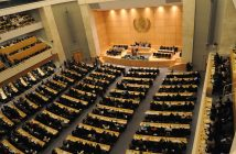 Geneva. WHA 61th, 19.05.2008. Opening of the 61th World Health Assembly. Large view of the Assembly.  Copyright: WHO / Oliver O'Hanlon