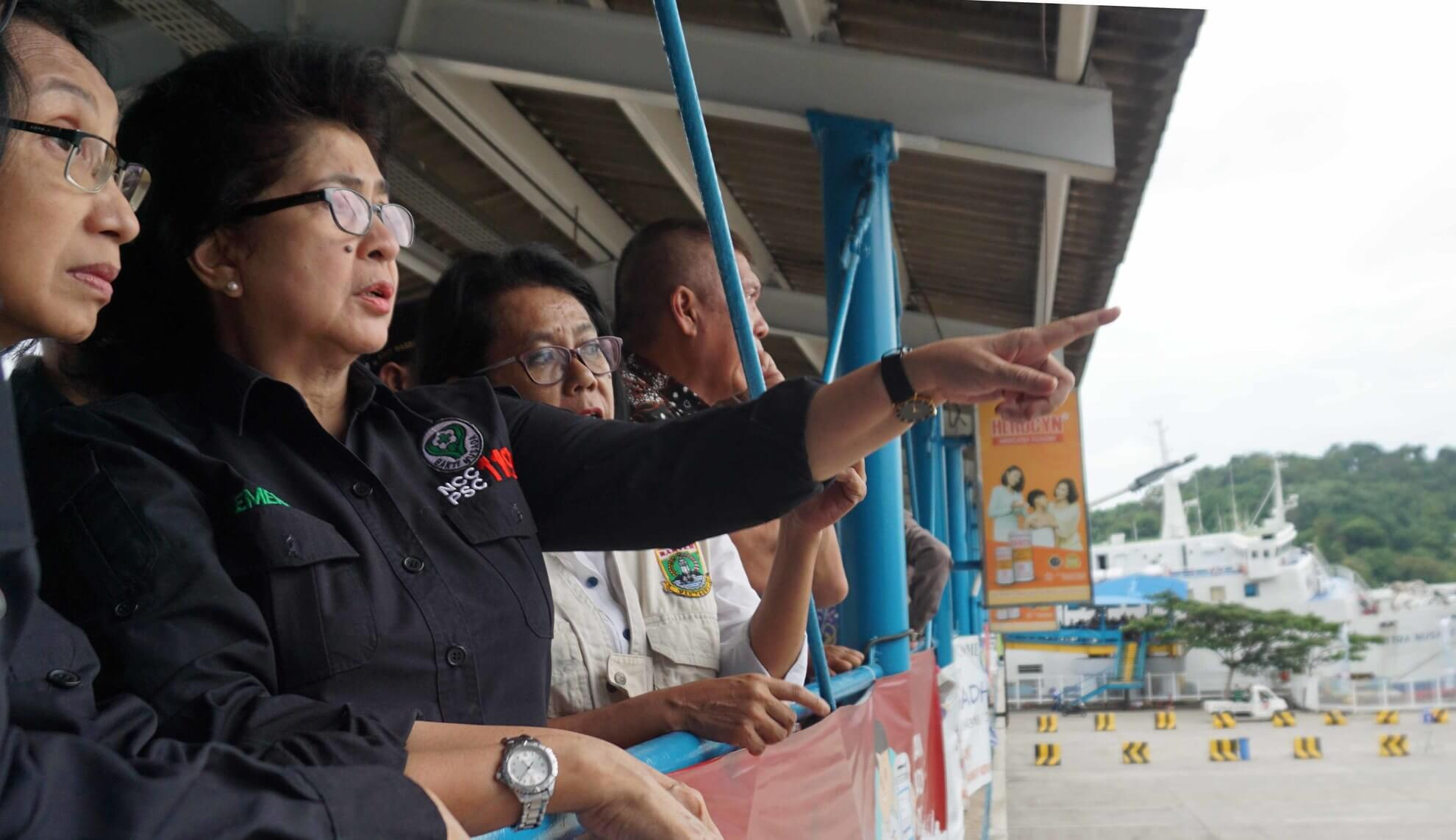 Pemantauan arus balik dan kesiapsiagaan kesehatan di Pelabuhan Merak-Banten