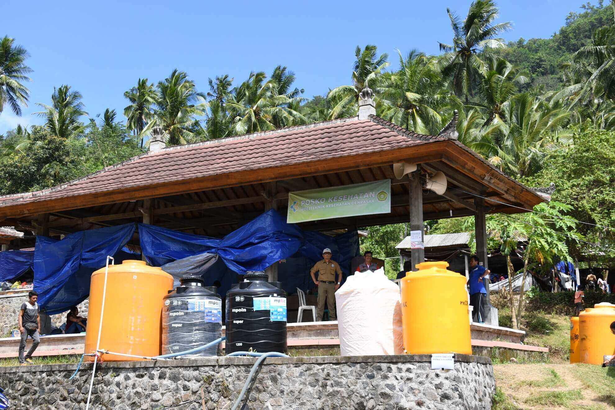 posko-tanggap-bencana-gunung-agung-pasar-manggis-desa-karang-asem
