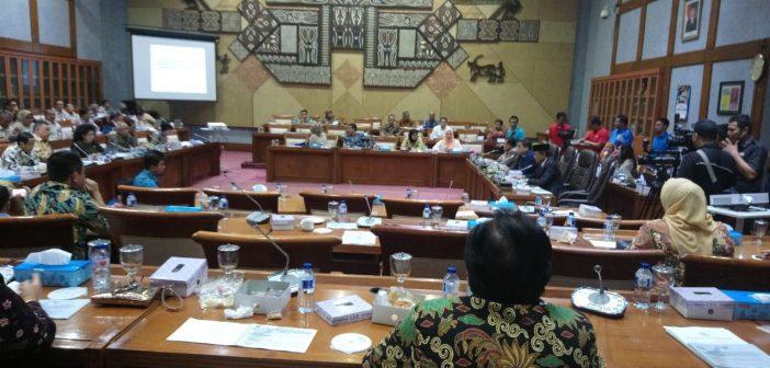 RDP Kemenkes dengan Komisi XI DPR
