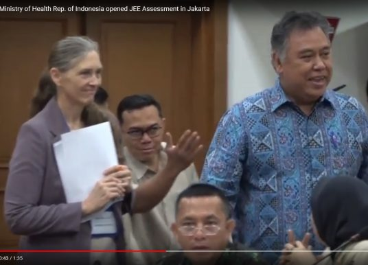 Sekjen Kemenkes buka Acara Joint External Evaluation di Jakarta