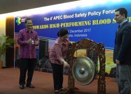 APEC Blood Safety Policy Forum ke-4, Indonesia Perkuat Keamanan Darah
