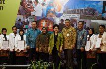 Menkes Apresiasi FKTP dengan Layanan DLP pada pembukaan Rakorpop di Jakarta, Selasa (12/12).
