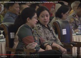 Kakornas Program Kependudukan, Keluarga Berencana dan Pembangunan Keluarga tahun 2018