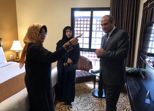Menkes Pantau Kesiapan Pelaksanaan Haji 1439 H