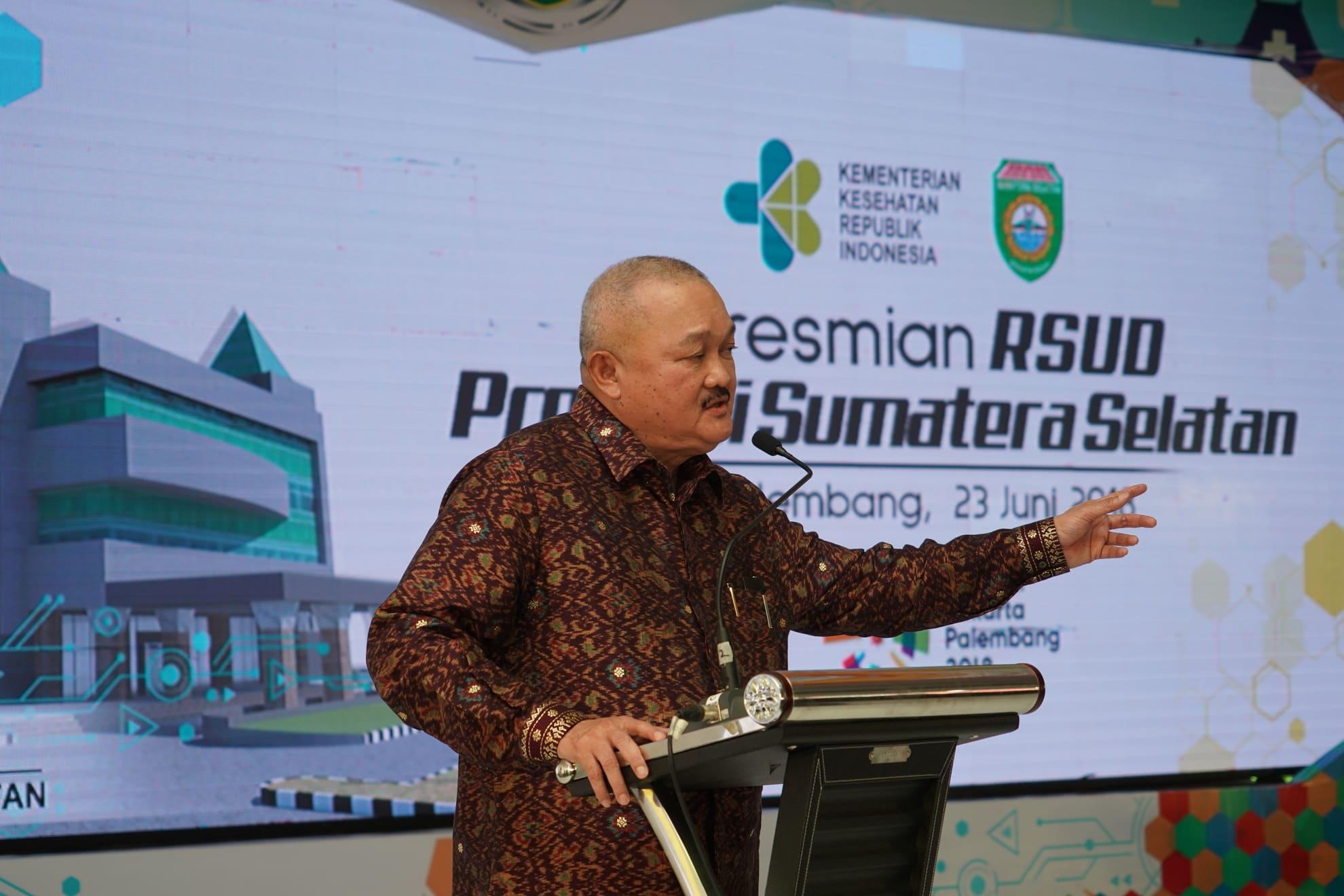 23-6-2018-sambutan-gubernur-sumsel-pd-peresmian-rsud-provinsi-sumatera-selatan