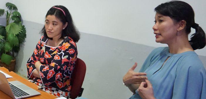 dr. Kristiana Siste, SpKJ(K) dan dr. Eva Suryani, SpKJ