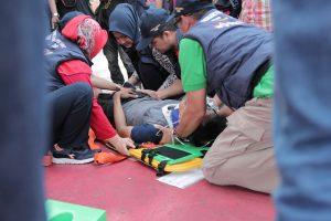 simulasi sport event injury