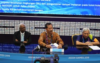 knferensi pers Dirjen Pelayanan Kesehatan Kemenkes dr Bambang Wibowo selaku Ketua Tim Kesehatan