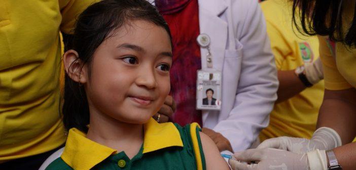 pencanangan kampanye imunisasi MR di Palangkaraya