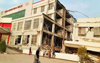 gempa bumi di Palu dan Donggala