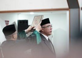 Menteri Kesehatan Nila Moeloek Lantik Oscar Primadi Jadi Sekjen Kemenkes RI