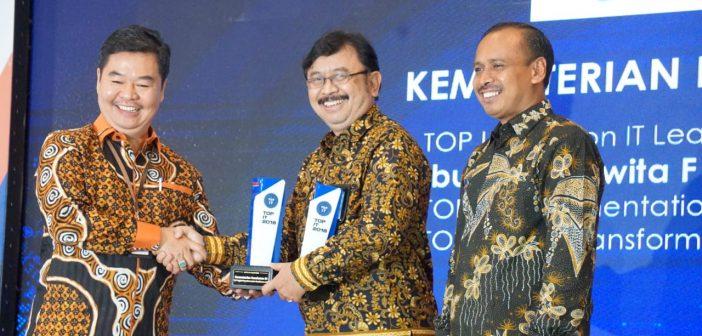 Penghargaan Kemenkes di bidang IT