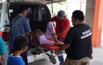 Pasien tidak di pungut biaya untuk menggunakan ambulans