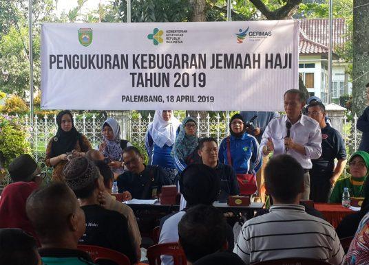 200 Jemaah Haji Palembang Ikuti Pembinaan Kesehatan