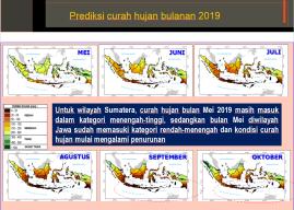Hampir 80% Bencana di Indonesia Terkait Hidroklimatologi
