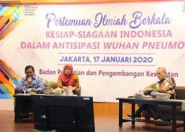 Indonesia Siap Antisipasi Wabah Pneumonia di Tiongkok