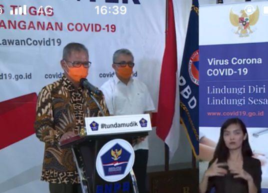 Total 164 Pasien Covid-19 Sembuh, Jubir Pemerintah Minta Masyarakat Pakai Masker