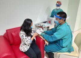 RS Leimena Gelar Simulasi Pemberian Vaksin COVID-19