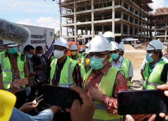 Kunjungan Kerja ke Provinsi Kalimantan Barat, Sekjen Apresiasi Pembangunan RSUD Dr Soedarso
