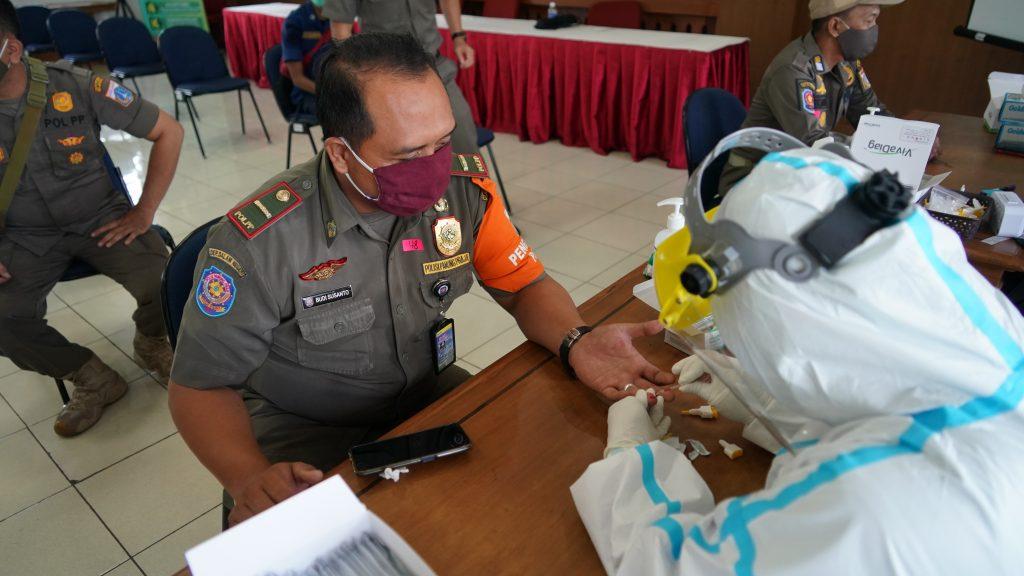Upk Kemenkes Gelar Rapid Test Kepada 500 Pegawai Di Kecamatan Setiabudi Sehat Negeriku