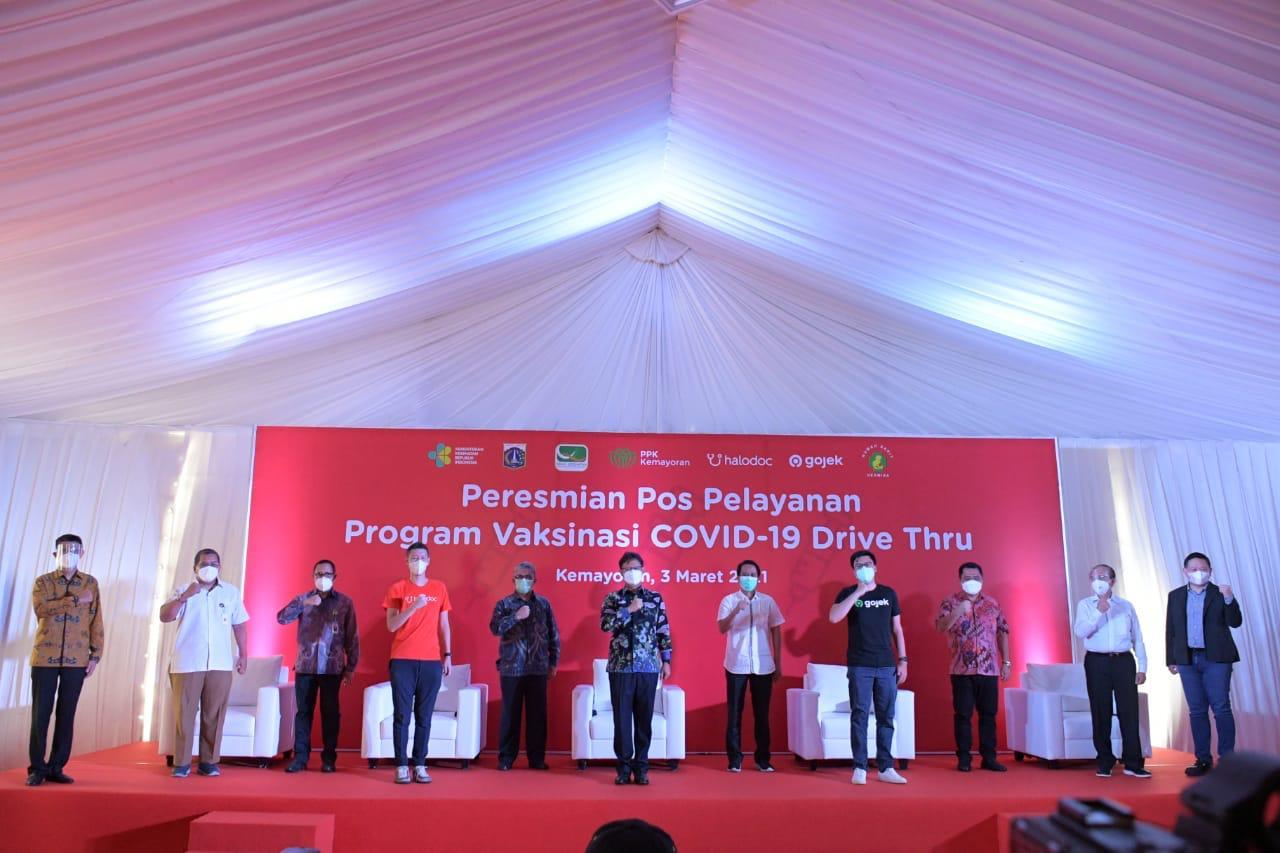 Kemenkes Gandeng Gojek dan Halodoc Bantu Pelaksanaan Vaksinasi COVID-19 - Sehat Negeriku
